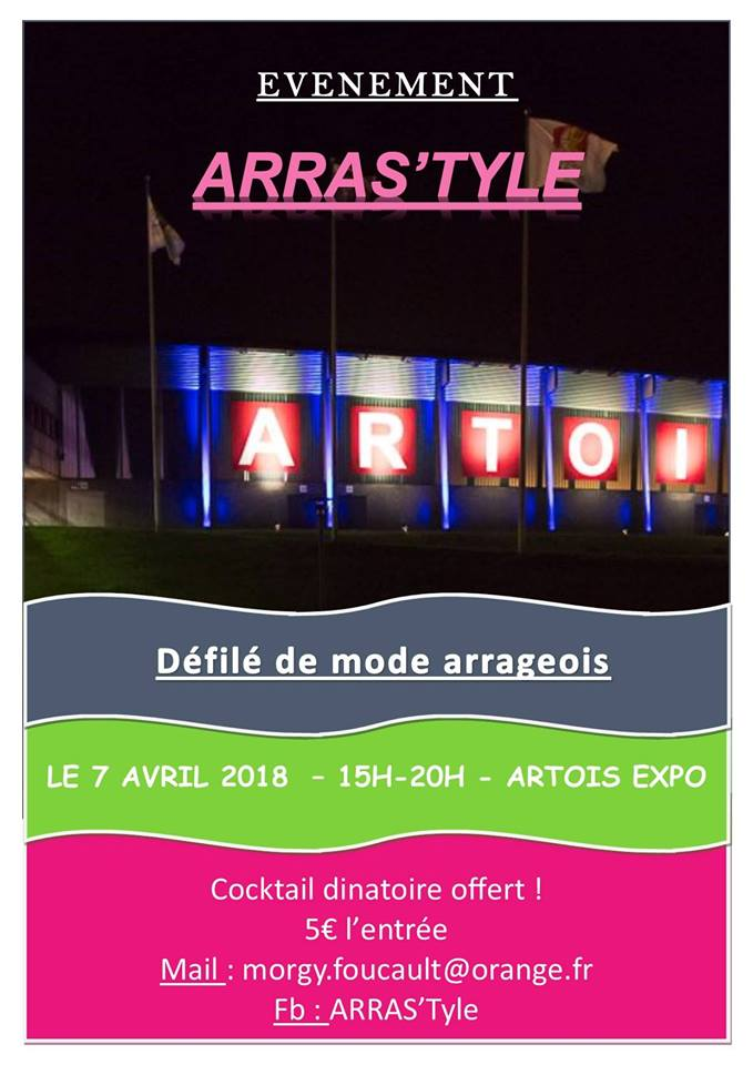 d fil de mode arrageois arras 39 tyle artois expo centre d 39 expositions et de congr s d 39 arras. Black Bedroom Furniture Sets. Home Design Ideas