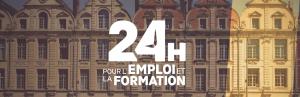 """Salon """"24 h pour l'emploi et la formation"""""""