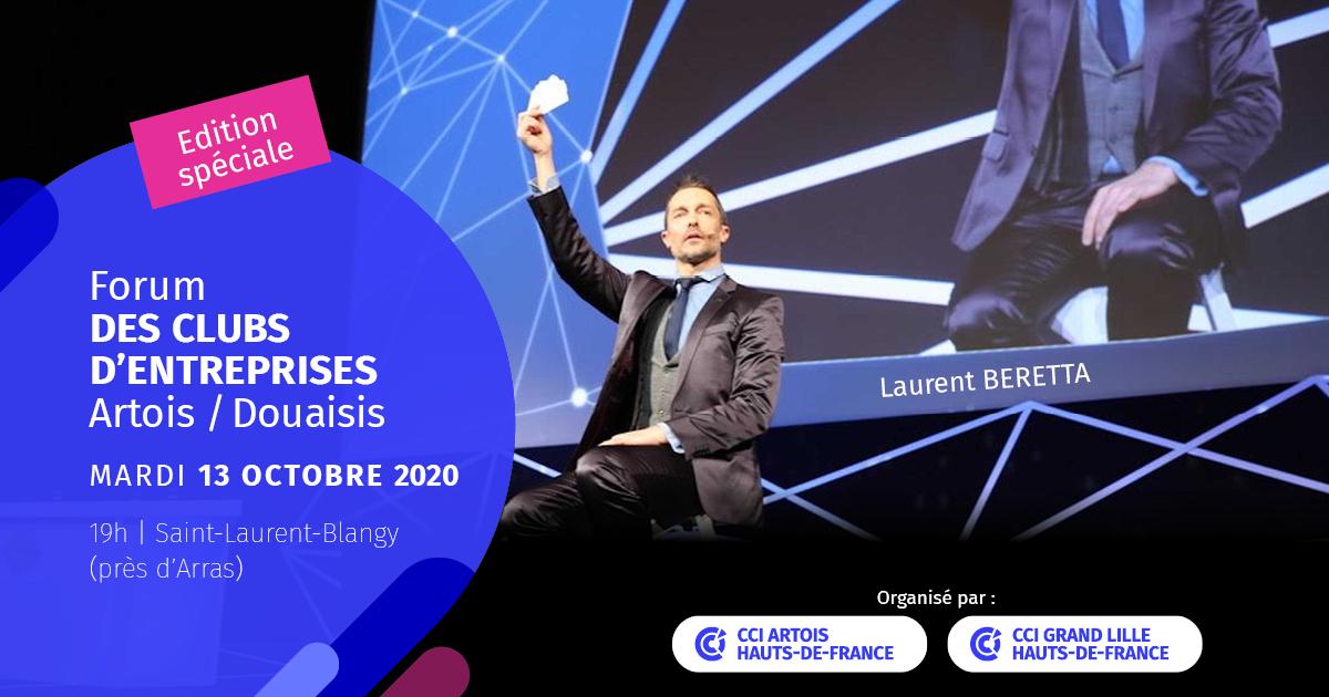Forum des clubs d'entreprises Artois Douaisis 2020
